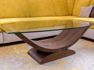 Drevený konferenčný stôl