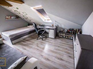 Sivá chlapčenská detská izba