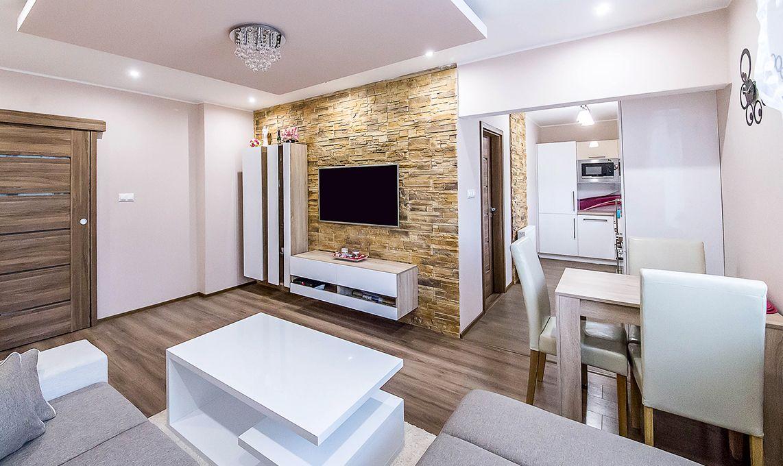 Obývačka s kuchyňou moderný štýl