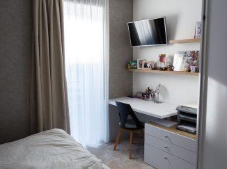 Detská izba v neutrálnych farbách