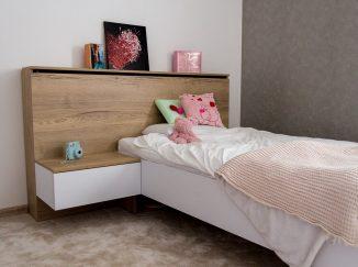 Detská posteľ na mieru s periňákom