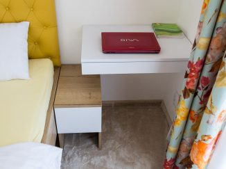 Detail nábytku v spálni