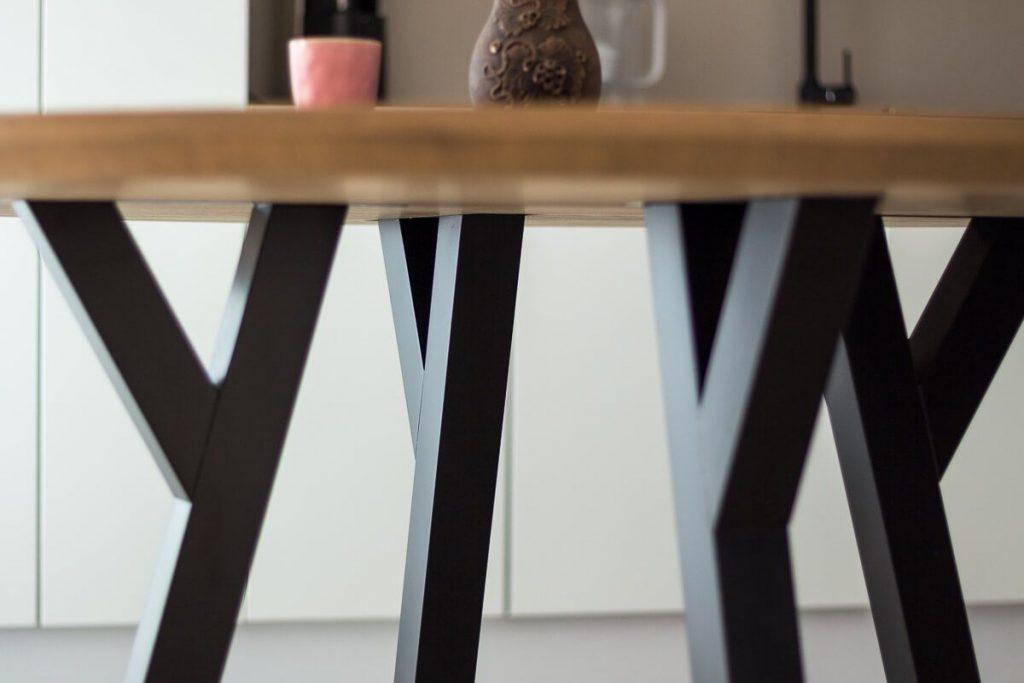 752e2561e61d Okrúhly jedálenský stôl - Masívny stôl - Stôl na mieru - Wood Style ...