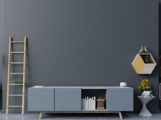 vizualizácia interiéru v kombinácií so sivou