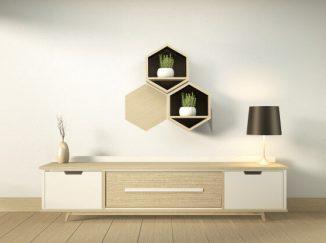 vizualizácia interiéru v moderných tvaroch