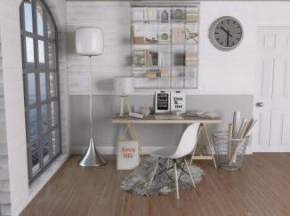 vizualizácia interiéru odtiene sivej