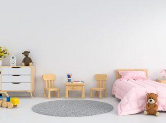 jednoduchá vizualizácia detskej izby