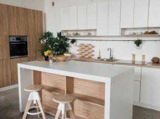 moderná vizualizácia kuchyne