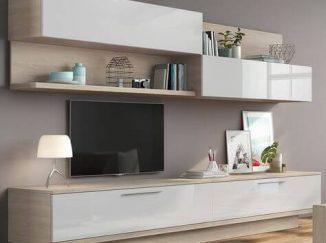 moderná obývačkova stena