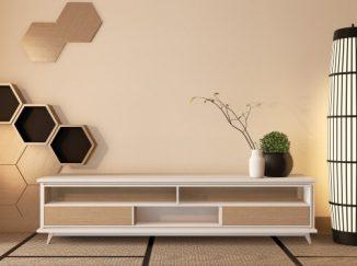 vizualizácia obývacej steny
