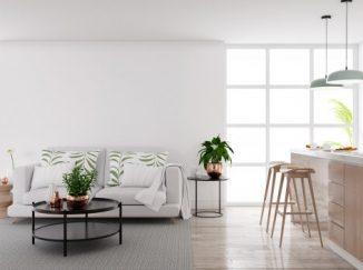 jednoduchá vizualizácia obývačky