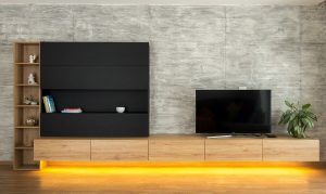interiér na mieru TV stena