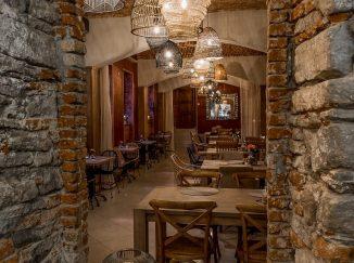 Interiér reštaurácie Poetika