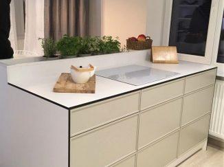 Kuchynský pult na mieru biely