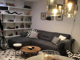 Obývačka s nábytkom na mieru
