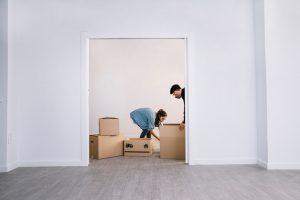 zariaďovanie prázdneho bytu