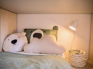 nábytok na mieru do detskej izby dekorácie