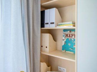nábytok na mieru do detskej izby úložný priestor