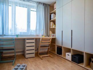 nábytok na mieru do detskej izby pracovný kútik