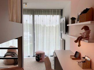 moderná detská izba s poschodovou posteľou