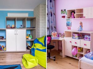 chlapčenská a dievčenská izba