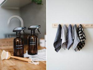 eko upratovanie v kuchyni