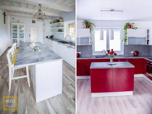 kuchyne s ostrovčekom