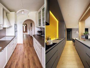 paralelné kuchyne