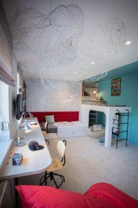 detská izba na mieru s poschodovou posteľou