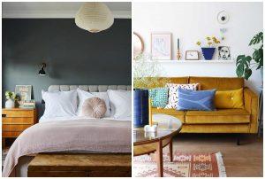 farebný vintage nábytok