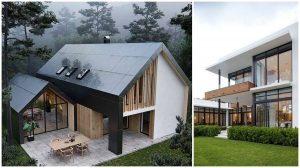 moderné rodinné domy