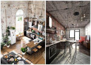 kuchyne v industriálnom štýle