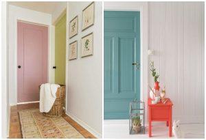 farebné interiérové dvere