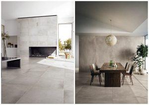 dlažba v modernom interiéri
