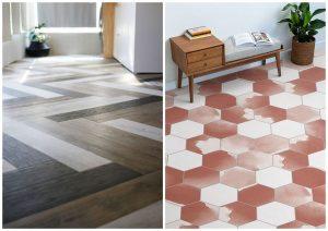 farebná vinylová podlaha