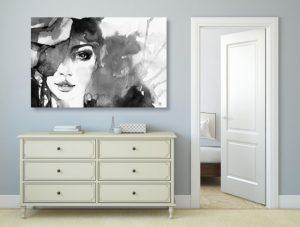 minimalistický štýl v izbe